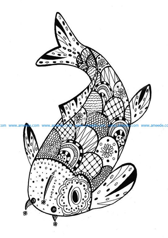 Justcolor zentangle 3